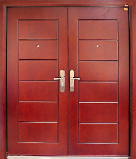 Scorpion doors our steel wooden security doors collection for Double door wooden door